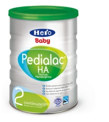 HERO LECHE  PEDIALAC HA 2 800G