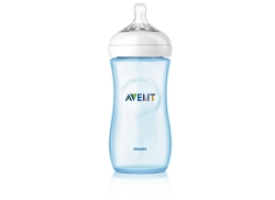 AVENT BIBER  N NATURAL AZUL 330 ML