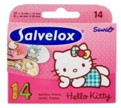 SALVELOX HELLO KITTY SURTIDO 14 UNDS