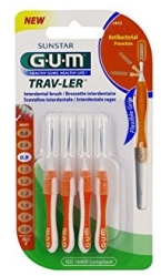 GUM CEPILLO INTERDENTAL TRAVLER 0 9MM