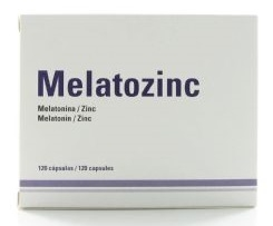 MELATOZINC 120 CAPS
