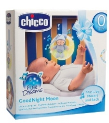 CHICCO LUCES MUSICALES BUENAS NOCHES AZUL