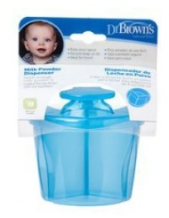 DR BROWNS DISPENSADOR LECHE EN POLVO AZUL