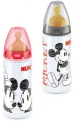 NUK BIBERON MICKEY LATEX 300 ML